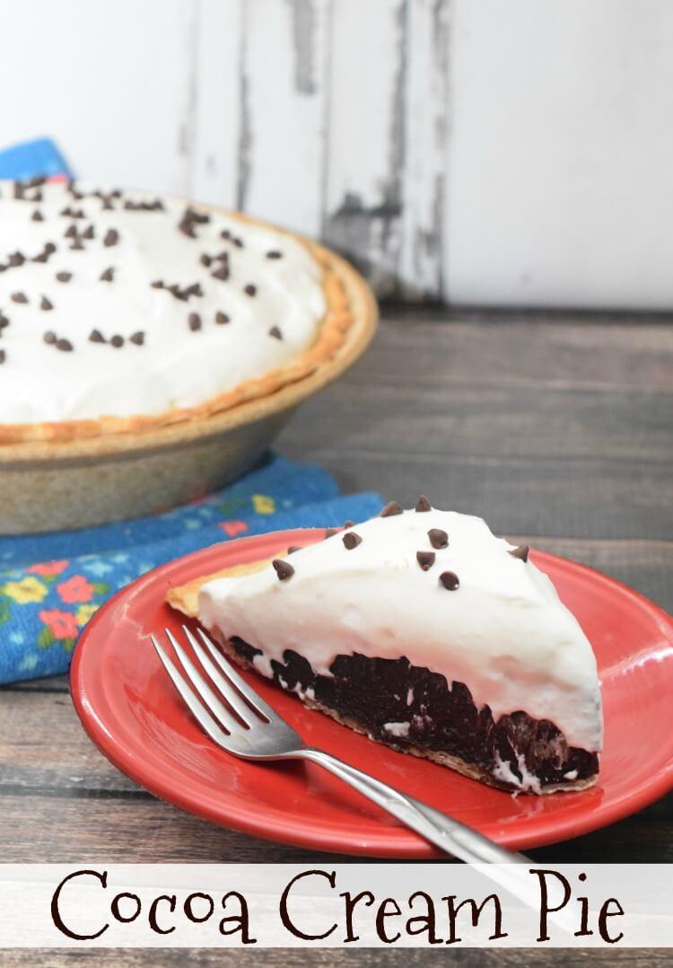 Make a Hershey's Cocoa Cream Pie