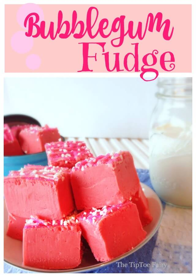 How to make Bubblegum Fudge