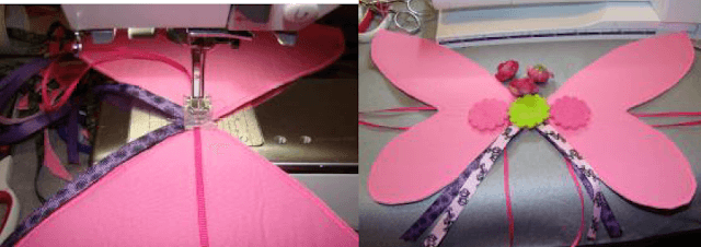 Decorate your doll fairy wings