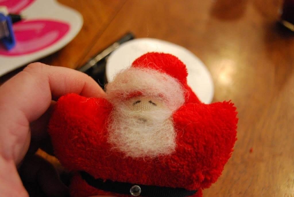 Give Santa a face.