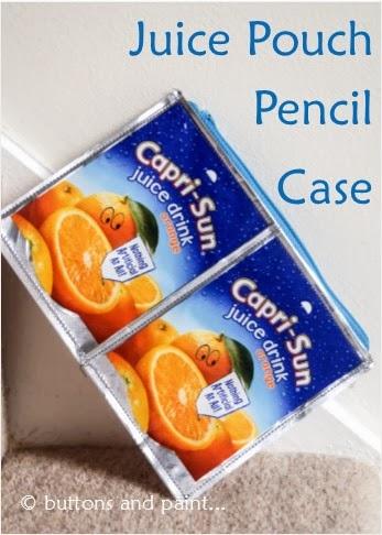 Juice Pouch Pencil Case