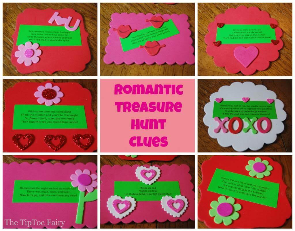Cute scavenger hunt clues for girlfriend
