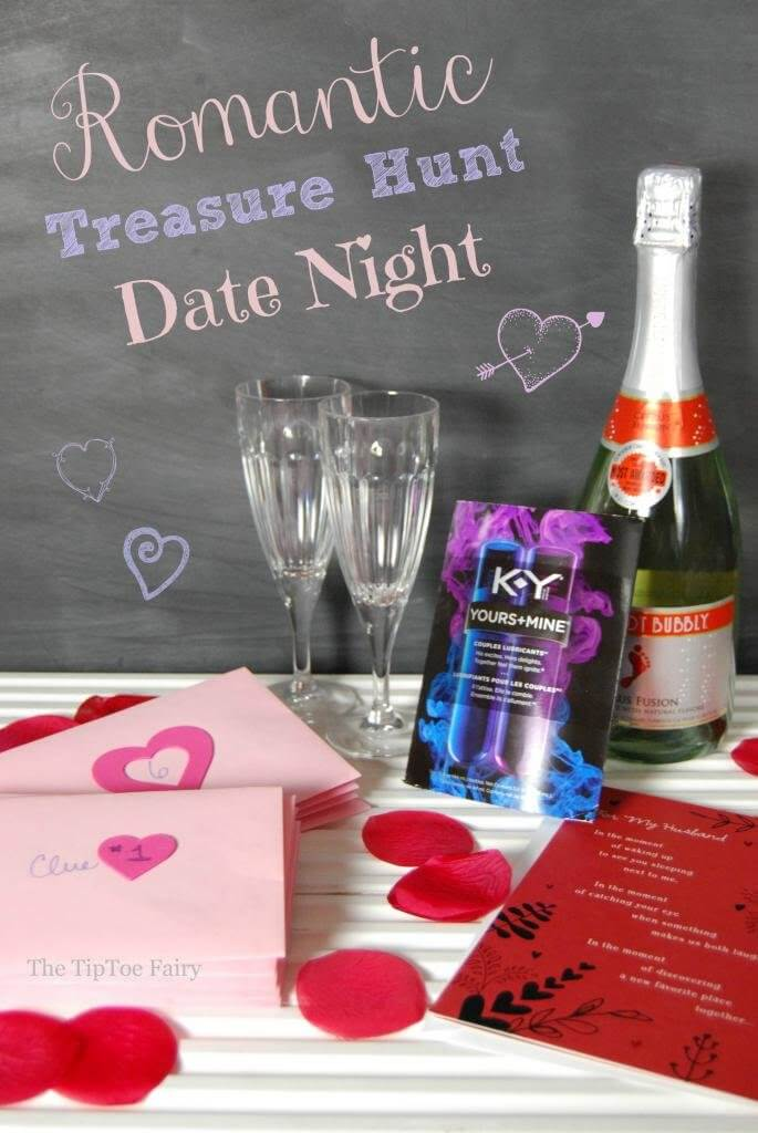 Romantic Treasure Hunt Date Night
