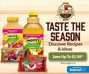 Mott's & M&Ms Coupons