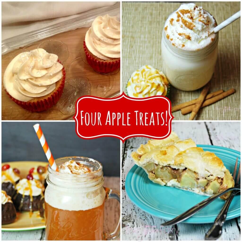 Four Apple Recipes | The TipToe Fairy #applerecipes #apple #drinks #dessert