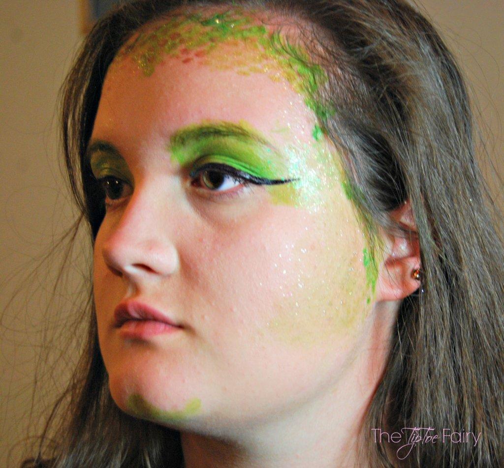 Medusa Makeup Tutorial The Tiptoe Fairy