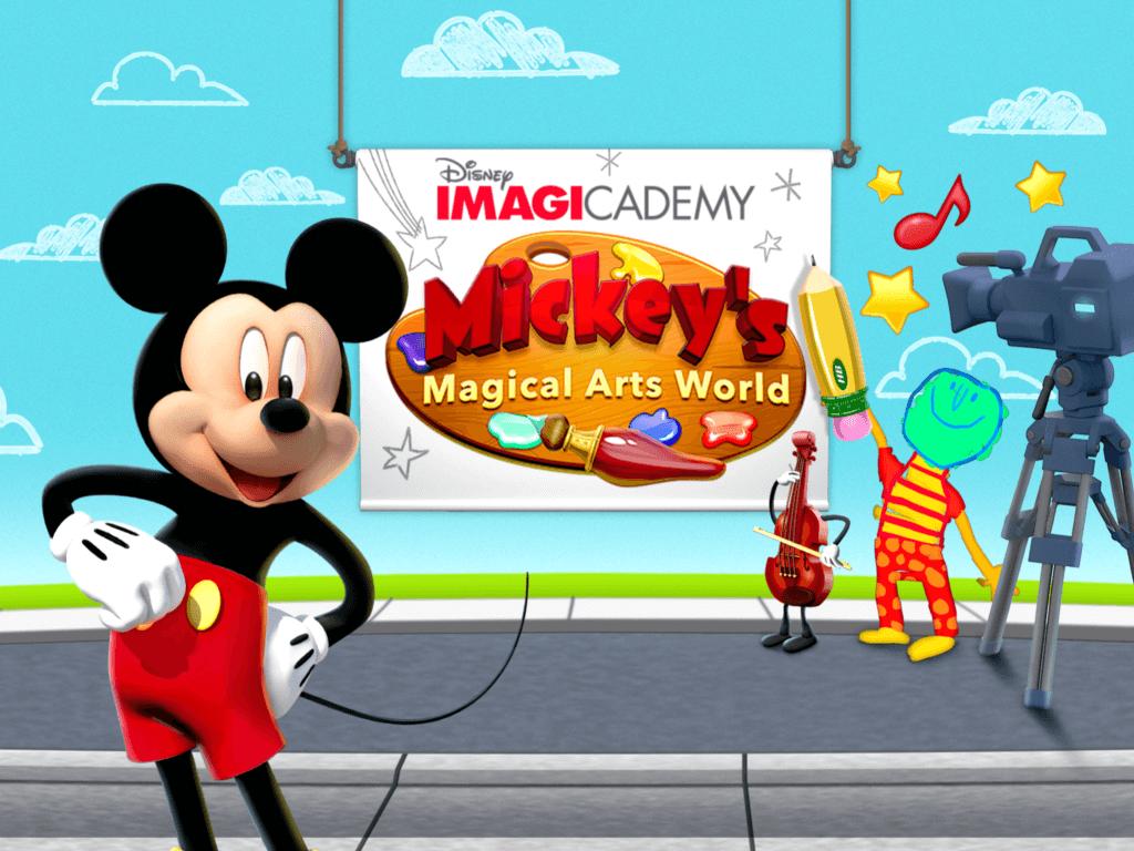 Disney Imagicademy Mickey's Magical Arts World App | The TipToe Fairy #DisneyImagicademy #CG