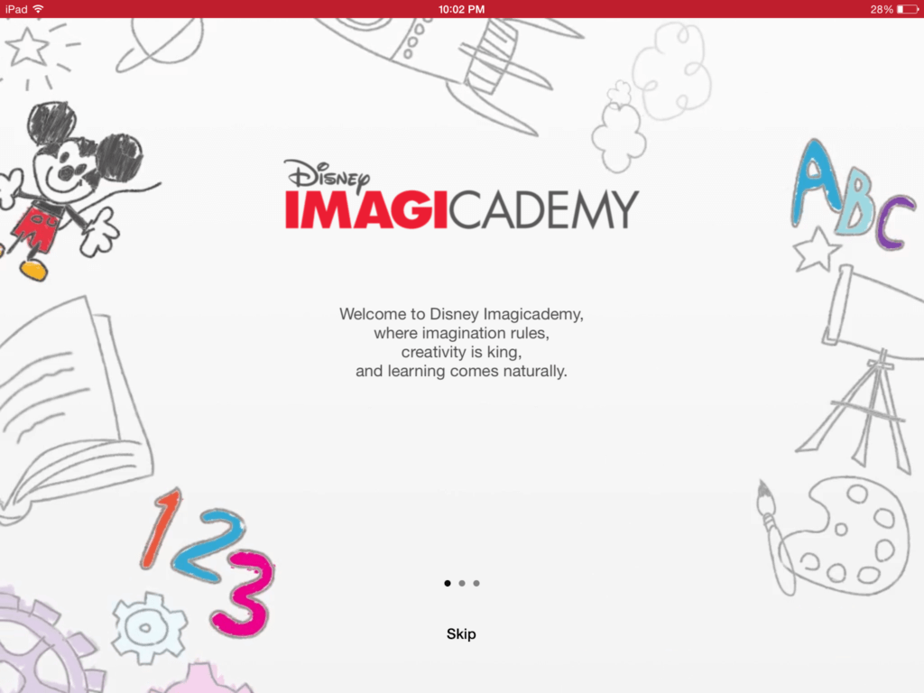 Disney Imagicademy Mickey's Magical Arts World App | The TipToe Fairy #DisneyImagicademy #CG