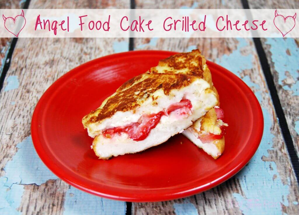 Angel Food Cake Grilled Cheese
