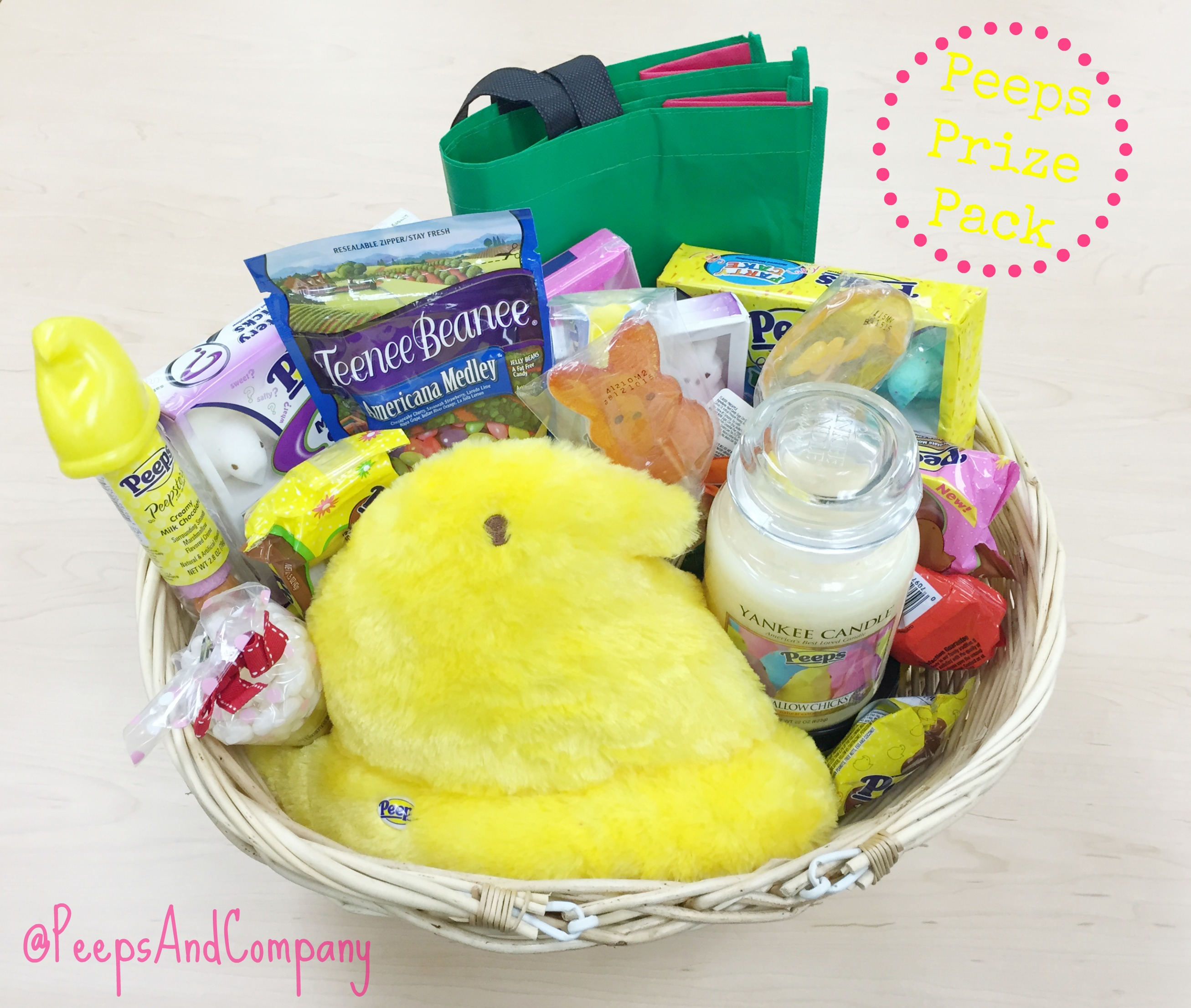 Win a PEEPS® Prize Pack.