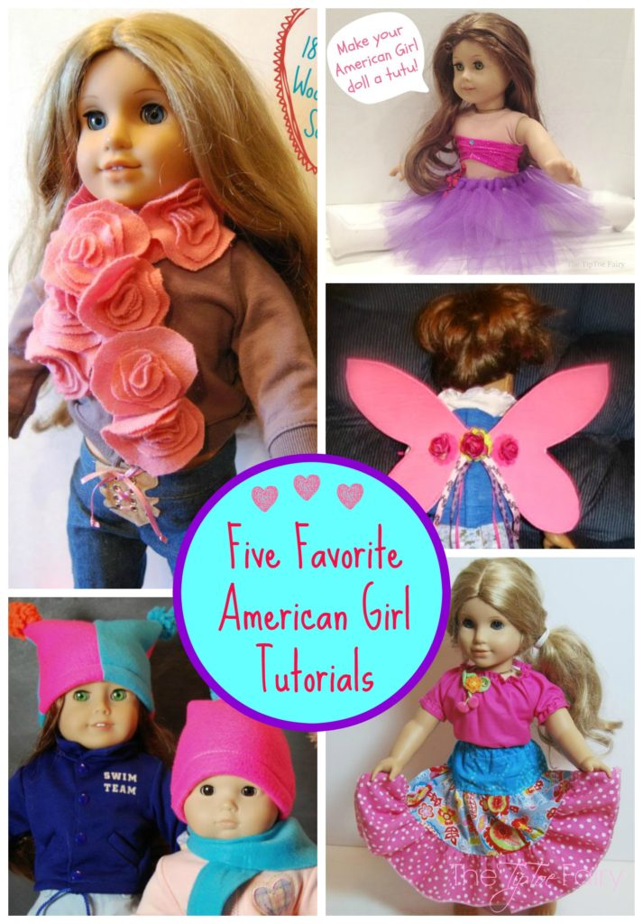 FIVE Favorite American Girl Doll Tutorials from The TipToe Fairy