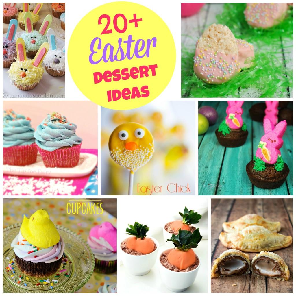 More Than 20 Fun Easter Dessert Ideas