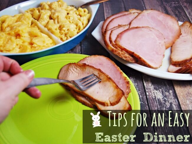 Easy Easter Dinner Tips with HoneyBaked Ham | The TipToe Fairy #HoneyBakedEaster