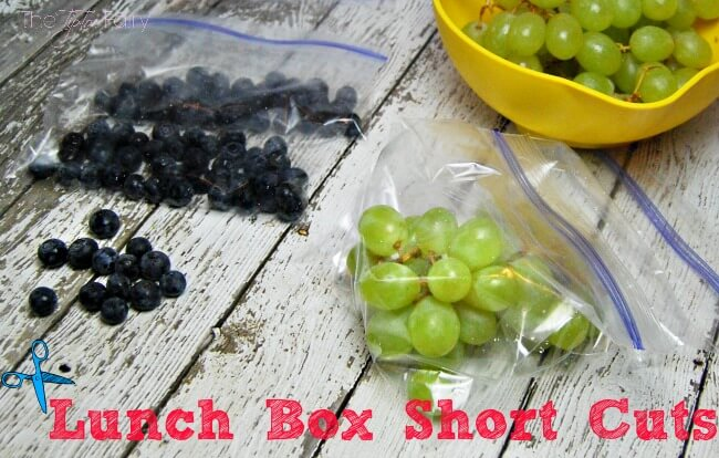 Make Mornings Easy with Lunch Box Short Cuts | The TipToe Fairy