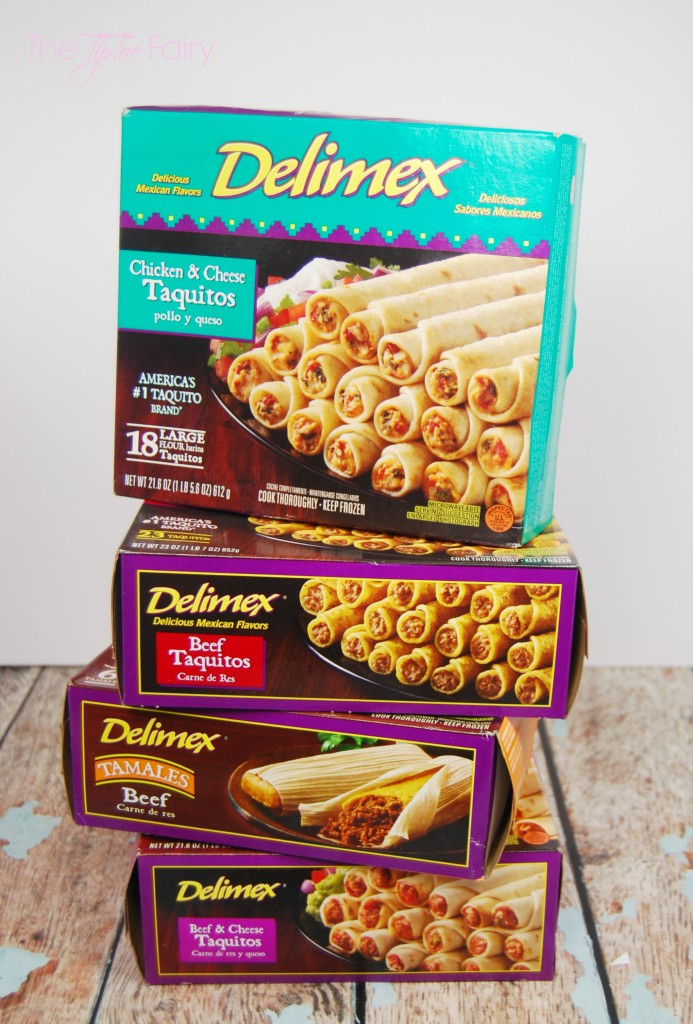 Three Easy Dips for Taquitos and Tamales - skillet queso, salsa guacamole, and Mexican chili gravy   The TipToe Fairy #DelimexFiesta #Ad