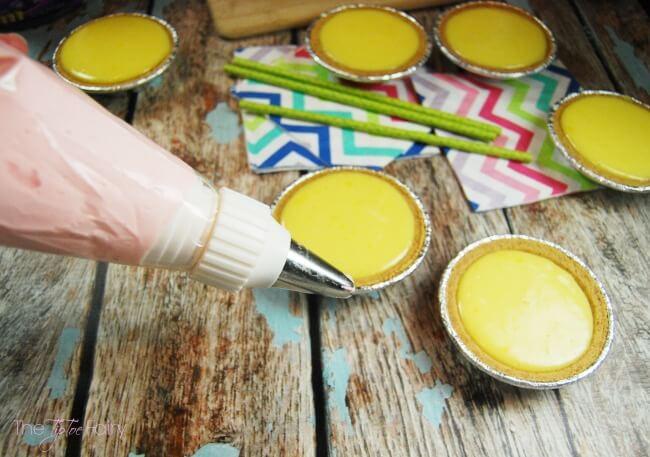 Cherry Limeade Pie - a twist on key lime pie with Kool-Aid Easy Mixins | The TipToe Fairy #PourMoreFun #ad @Walmart