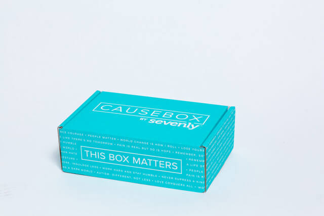 Unboxing of the CAUSEBOX02 | The TipToe Fairy #CAUSEBOX02; #thisboxmatters; #sevenly
