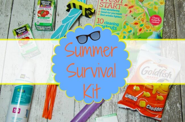 Make a Summer Survival Kit for your family! | The TipToe Fairy