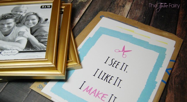Free Crafty Printables for your craft and sewing room | The TipToe Fairy #CleaningUntangled #EurekaPower #ad