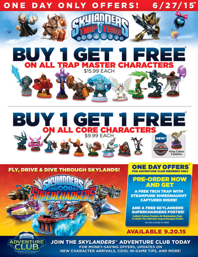Skylanders DEALS at Gamestop with BUY 1 Get 1 FREE!! | The TipToe Fairy