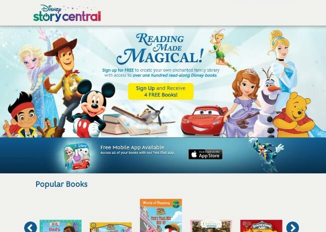 Make Reading Magical with Disney Story Central this summer with your kids! #DisneyStoryCentral #CleverGirls | The TipToe Fairy