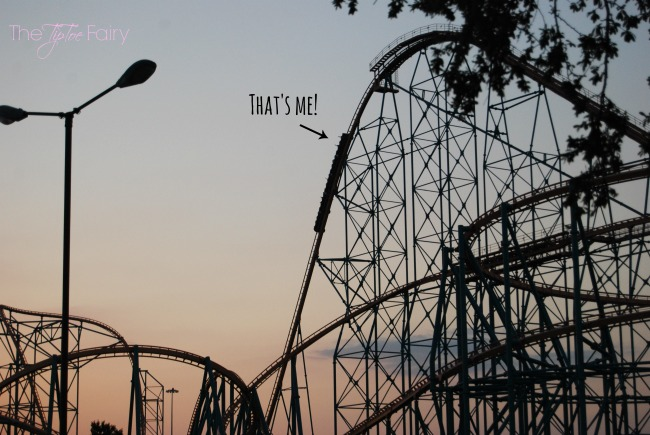Non-Drowsy Naturals Dramamine - My Ticket to Thrill RIdes!  It's a non drowsy solution for motion sickness! #ad #Dramamine #CG | The TipToe Fairy