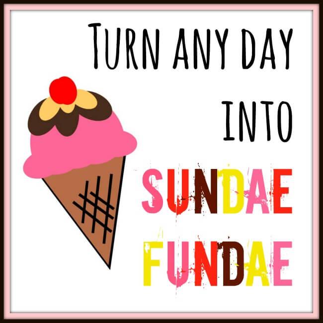 Turn Any Day into #SundaeFundae #ad   The TipToe Fairy