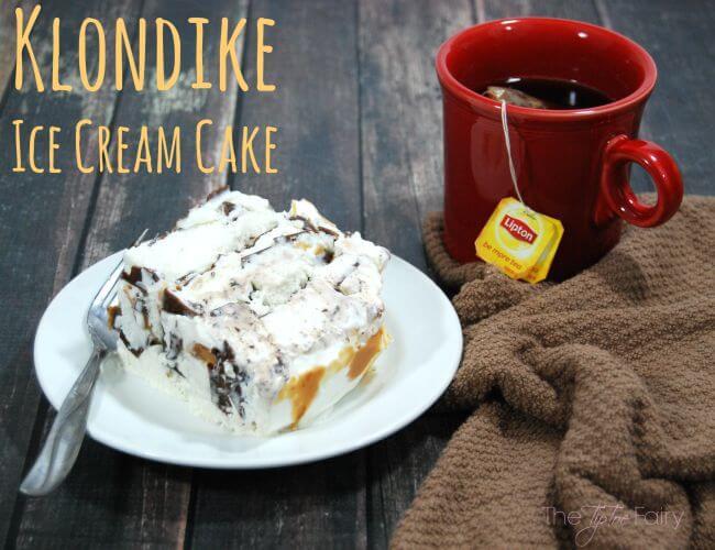 Klondike Ice Cream Cake - a sweet frozen treat perfect for summer! #ASweetSale #Albertsons [ad] | The TipToe Fairy