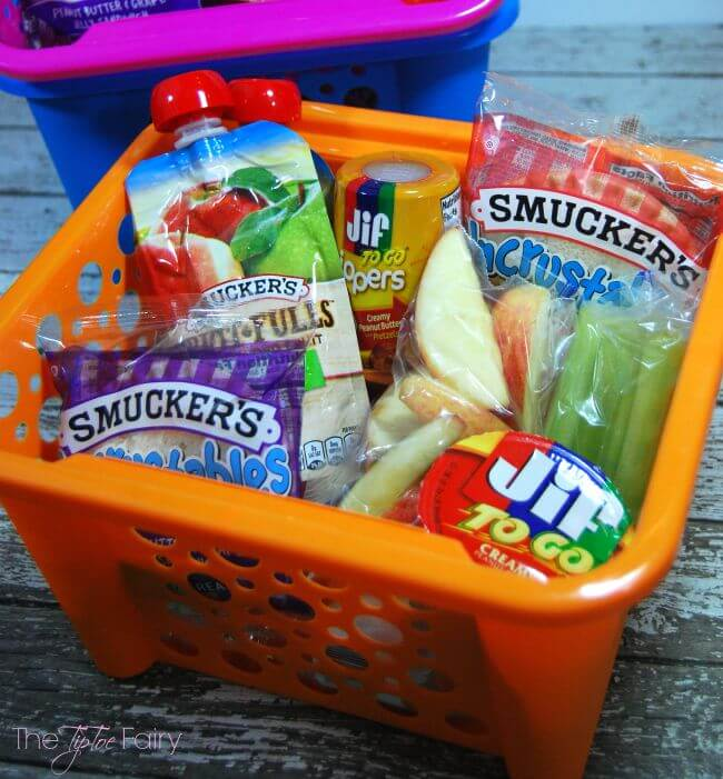 Snack Box Tips for Kids for your next road trip! #Snackation #ad | The TipToe Fairy