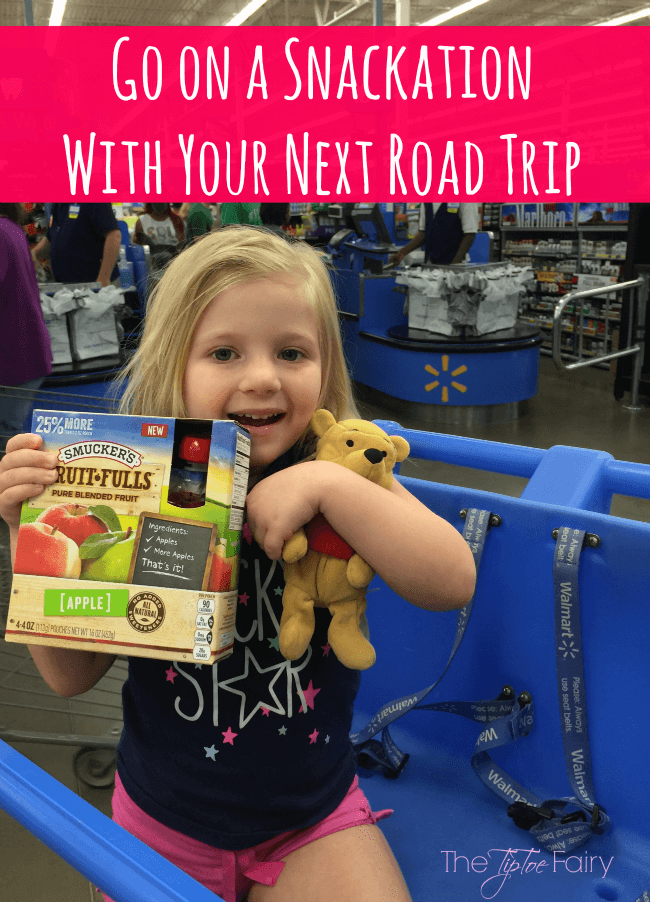Have a Snackation on your next Road Trip! #Snackation #ad | The TipToe Fairy