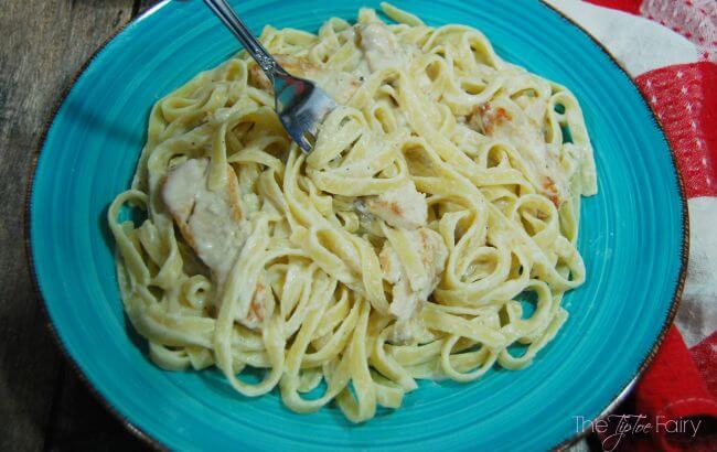 Back to School Dinner: Easy Chicken Fettuccine Alfredo #ad @TysonFoods #TysonProjectAPlus   The TipToe Fairy