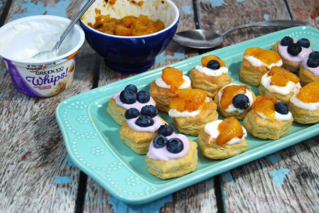 Yogurt Puff Pastries - A simple snack for everyone! #ad | The TipToe Fairy