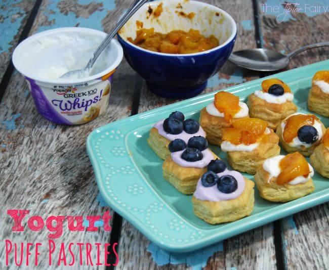 Yogurt Puff Pastries The Tiptoe Fairy