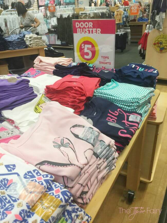 Get some amazing deals at Carter's for Back to School! #CountMeInCarters #IC [ad] | The TipToe Fairy