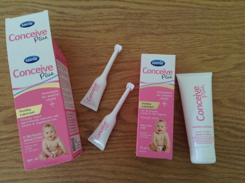 conceive plus tube comes with applicators
