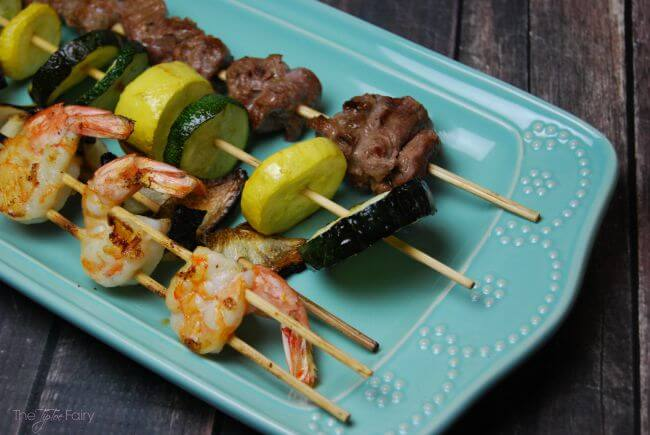 Creamy Lemon Butter Sauce and tips for great kabobs | The TipToe Fairy
