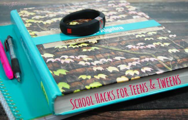 10 School Hacks for Teens & Tweens #gameband #ad | The TipToe Fairy