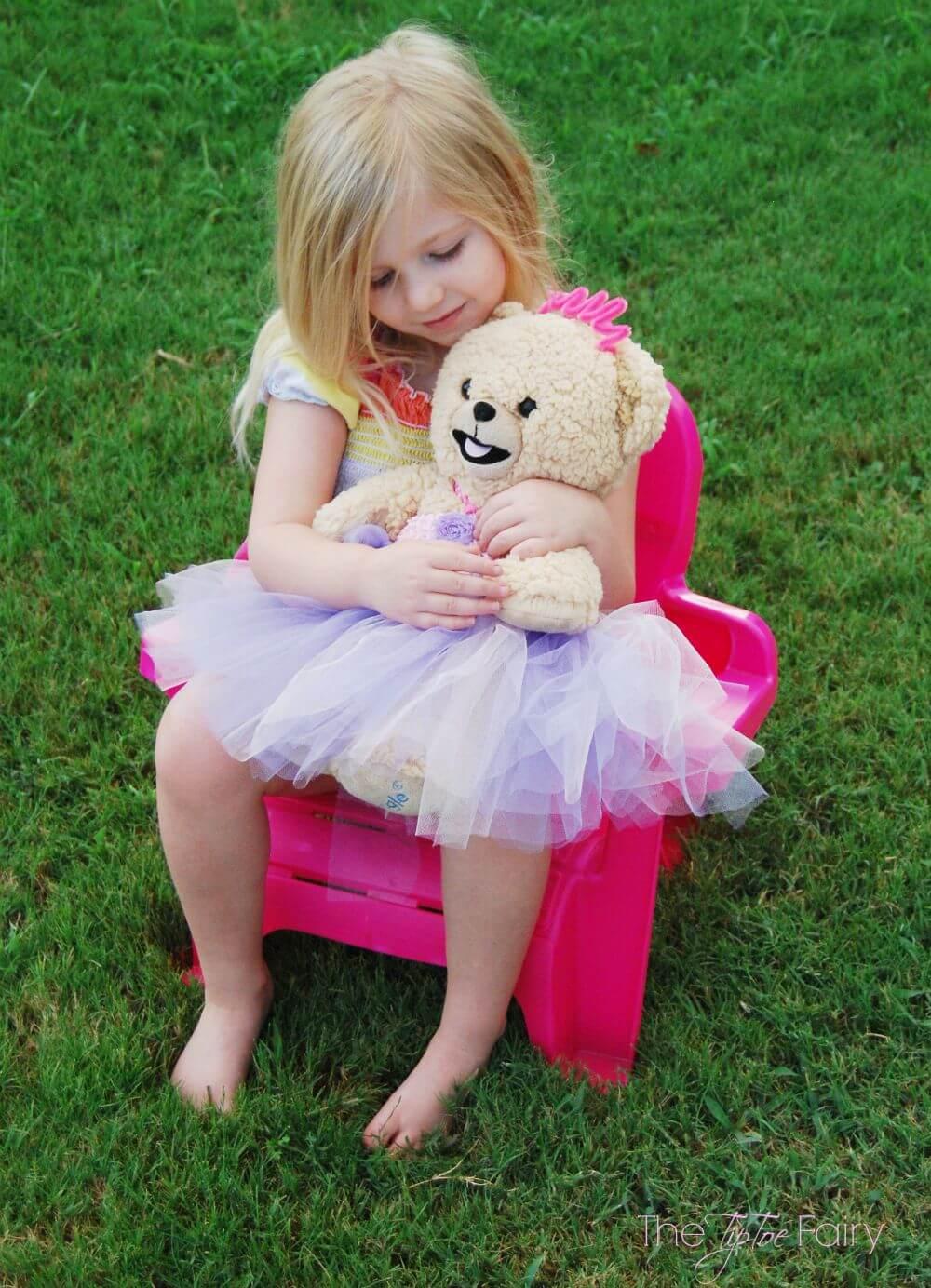 DIY Snuggle Bear Princess Dress | The TipToe Fairy