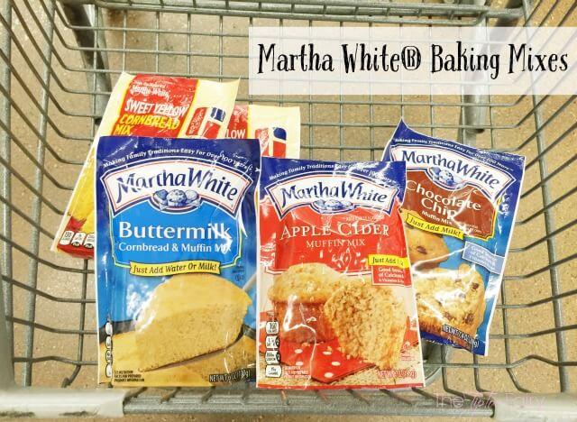 Martha White Baking Mixes #ad | The TipToe Fairy
