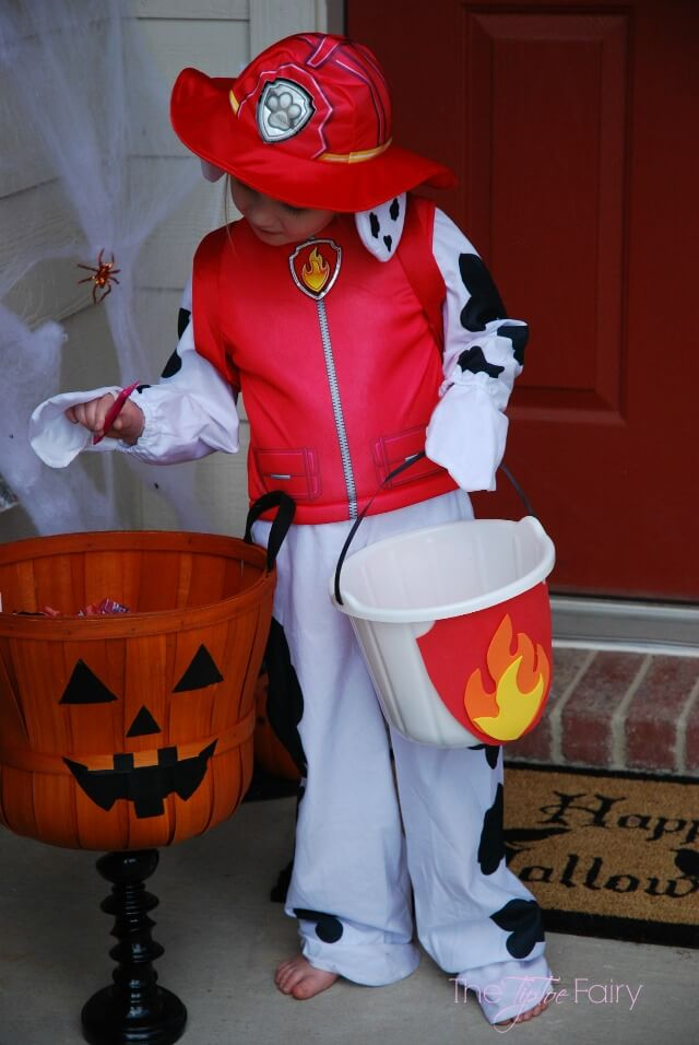 PAW Patrol Halloween costumes and accessories from Party City #ad #NickSpooktacular | The TipToe Fairy