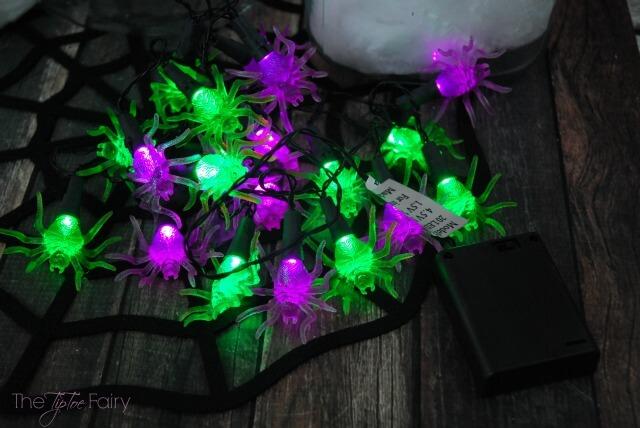 Make a Halloween Spider Luminary - easy recycle / upcycle tutorial! #ad #BringingInnovation | The TipToe Fairy