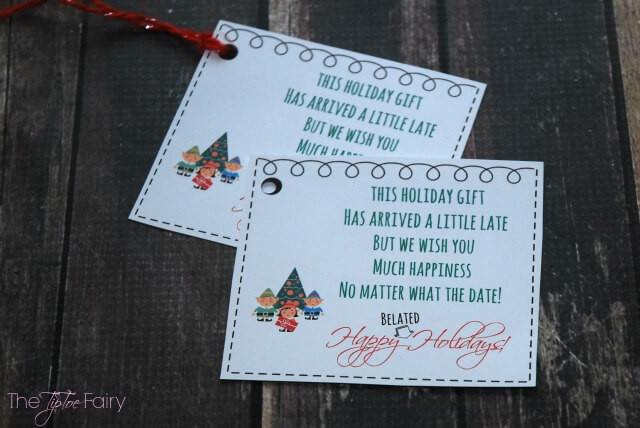 Belated Holiday Gift for Her with FREE Printable | The ...