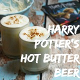 Harry Potter Hot Butter Beer Drink