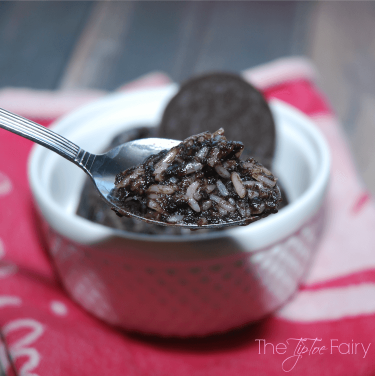 Oreo Rice for One! Takes just 3 minutes! #dessert #oreos #food #foodie #yum
