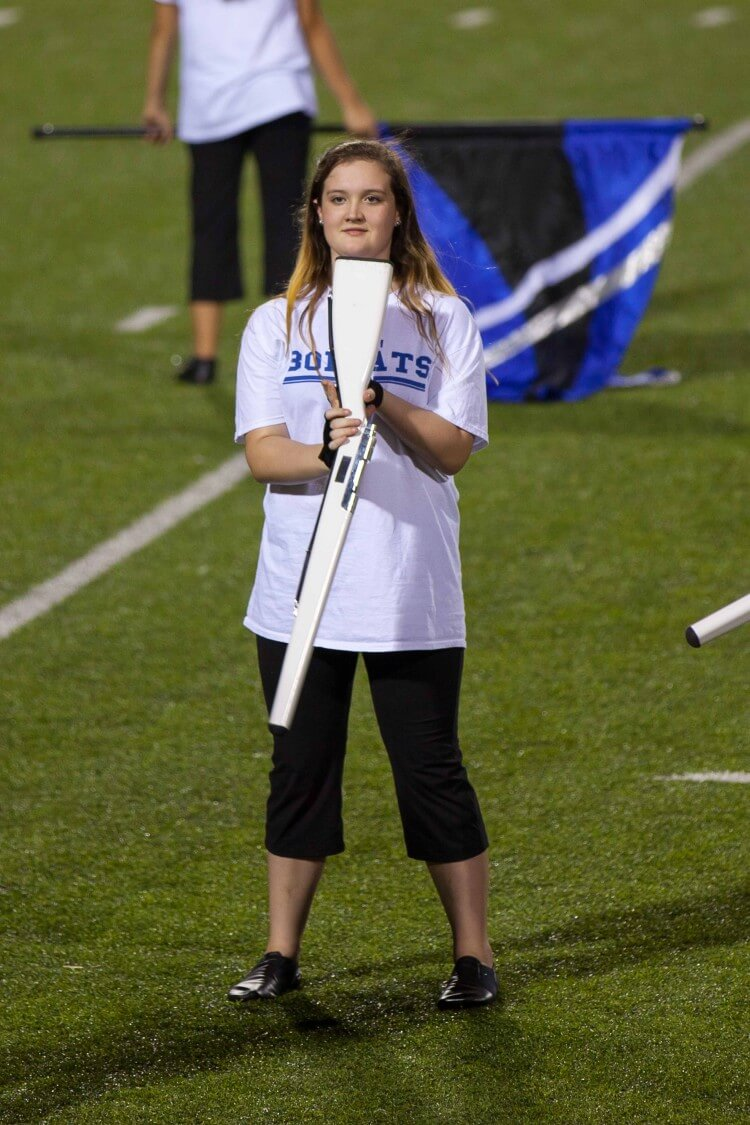 #JustAKidFrom with a Dream - My daughter's Color Guard story #spon @POWERADE @Walmart