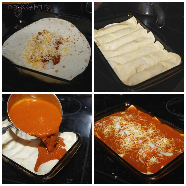 #YesYouCan make these easy Sloppy Joe Enchiladas in less than 30 min! #ad #food #yum