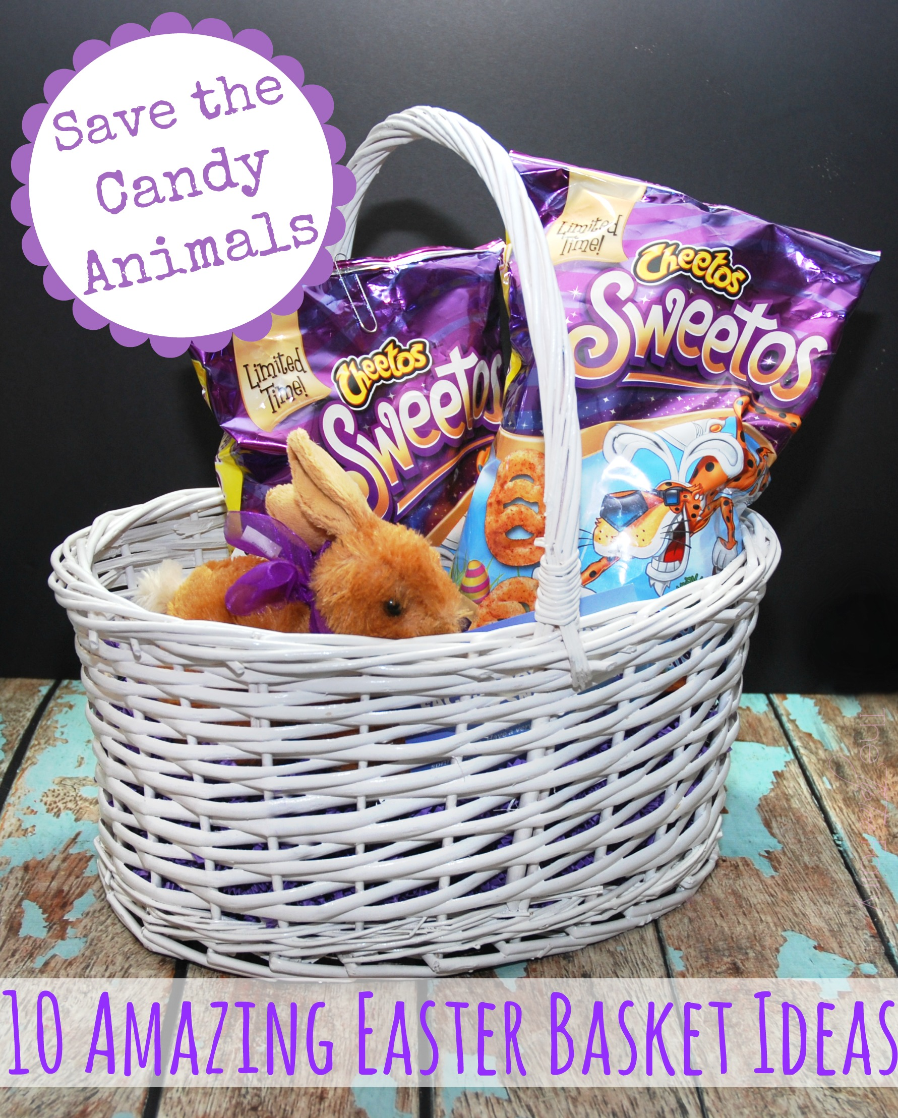 Save the candy animals with 10 amazing easter basket ideas the save the candy animals with 10 amazing easter basket ideas negle Images