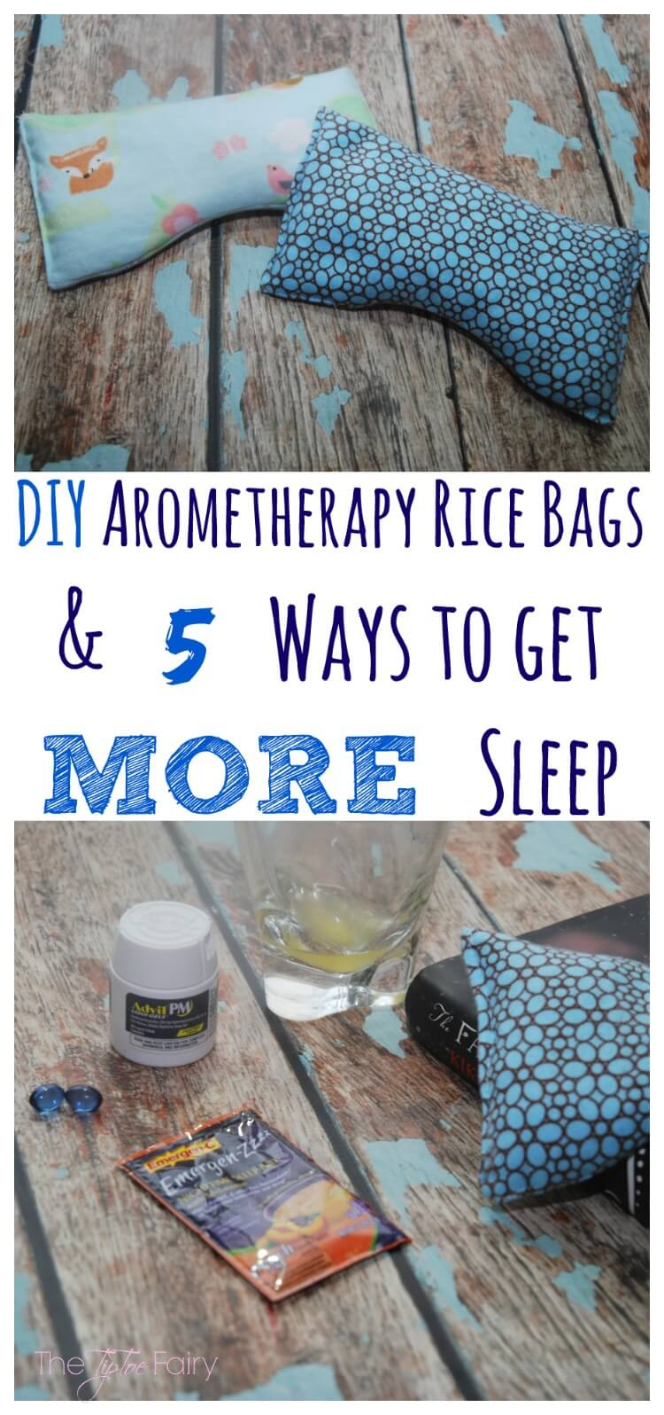 #FindRestEasy with FIVE ways to get a goodnight's sleep w/ a #DIY Eye Pillow tutorial #craft AD