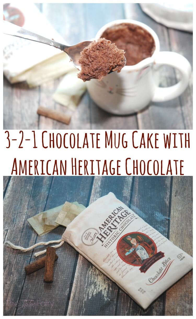 Chocolate Mug Cake topped w spicy decadent @choc_history #ChocolateHistory #IC #ad