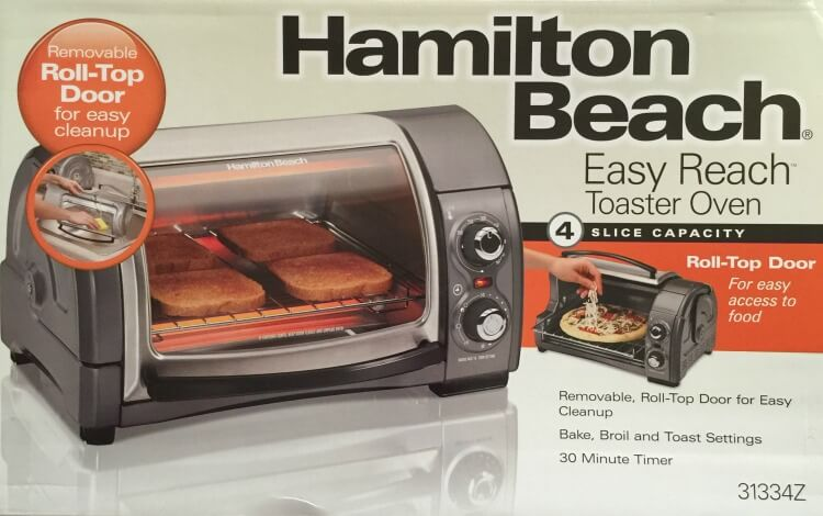 See @HamiltonBeach's new #EasyReach Toaster Oven & enter to #win one! @Target #AD #giveaway